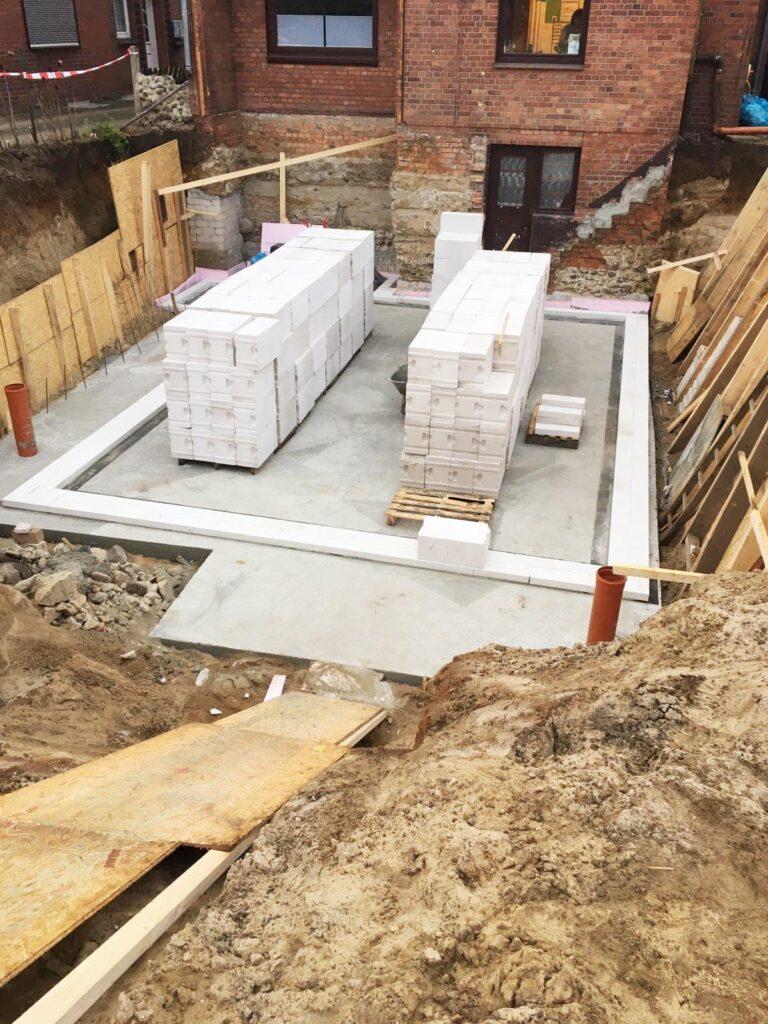 Beton, Mauern, Wärmedämmung, Klinker